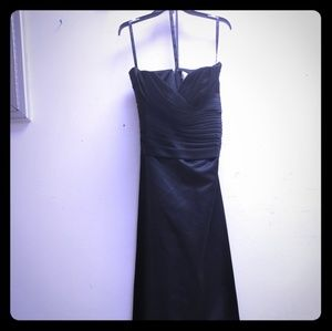 BILL LEVKOFF BLACK DRESS SIZE 12